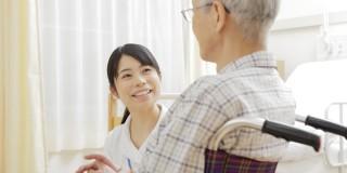 介護施設での看護師パート