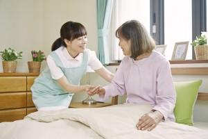有料老人ホームで働く看護師