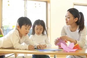 子供達と関わる看護師の仕事