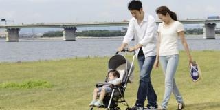 子供と散歩