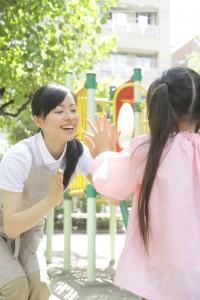 幼稚園で働く看護師