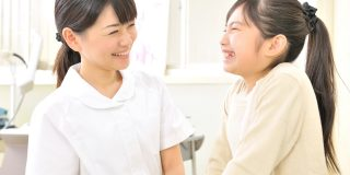 小児科クリニックでパート勤務する看護師