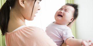 泣いて愚図る赤ちゃん